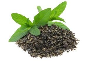 Alapanyag a zöld teás testápolóhoz